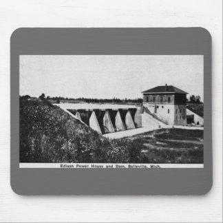 Casa y presa Belleville, Michigan del poder de Edi Alfombrilla De Raton