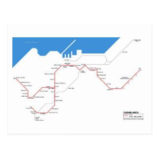 Casablanca subway postcards