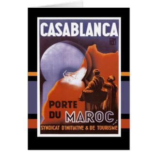 Casablanca Tarjeta De Felicitación