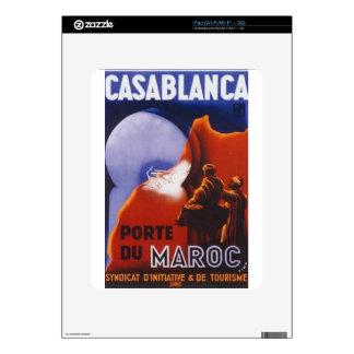 Casablanca Vintage Travel Skin For The iPad