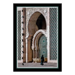 Casablanca--Woman at Mosque Posters