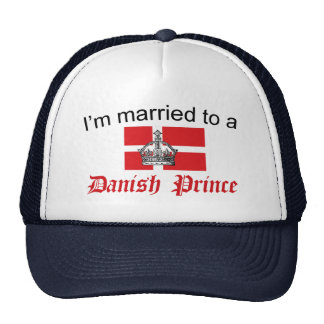 Casado con el príncipe danés gorras de camionero