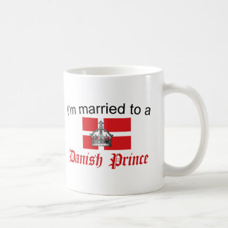 Casado con el príncipe danés taza clásica
