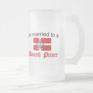 Casado con el príncipe danés taza de cristal