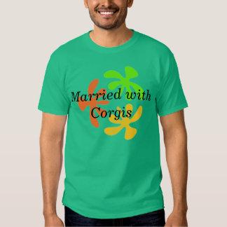 Casado con los Corgis Playera