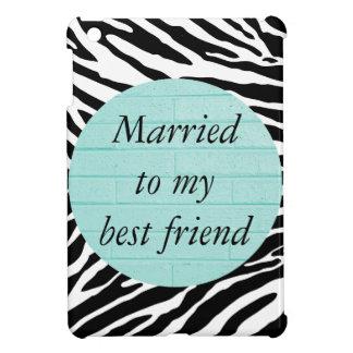 Casado con mi caso del iPad del mejor amigo mini