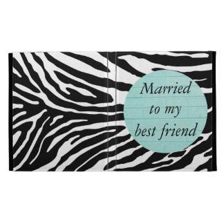 Casado con mi folio del iPad del mejor amigo