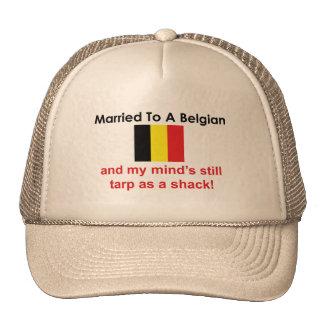 Casado con un belga gorras de camionero