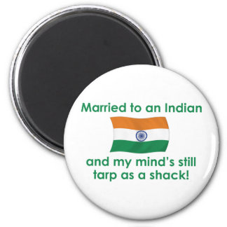 Casado con un indio imán de nevera