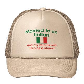 Casado con un italiano gorra
