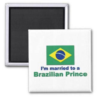 Casado con un príncipe brasileño imanes de nevera