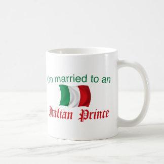 Casado con un príncipe italiano taza de café
