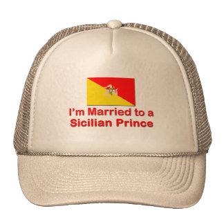 Casado con un príncipe siciliano gorra
