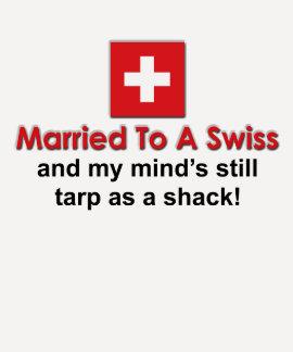 Casado con un suizo camisetas
