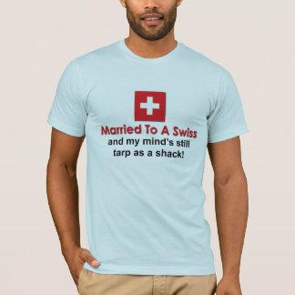 Casado con un suizo playera