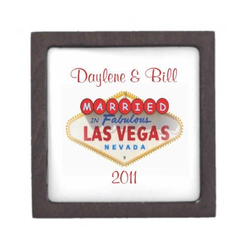 CASADO en la caja 2011 de regalo de Las Vegas Caja De Regalo De Calidad
