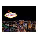 CASADO en la postal fabulosa de Las Vegas