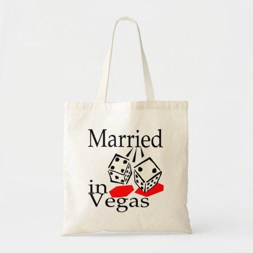 Casado en Las Vegas Bolsa Tela Barata