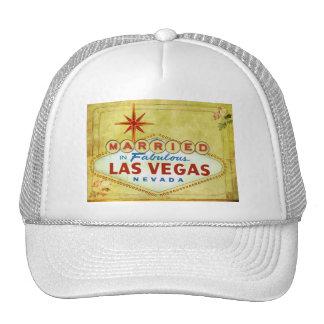 Casado en Las Vegas fabuloso - vintage Gorros