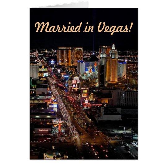 ¡Casado en Vegas! Tarjetas de la invitación
