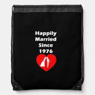 Casado feliz desde 1976 mochila