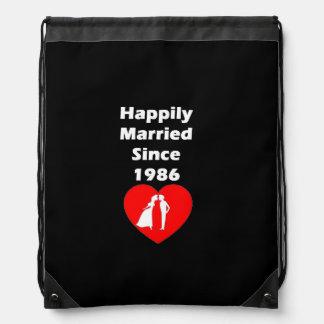 Casado feliz desde 1986 mochilas