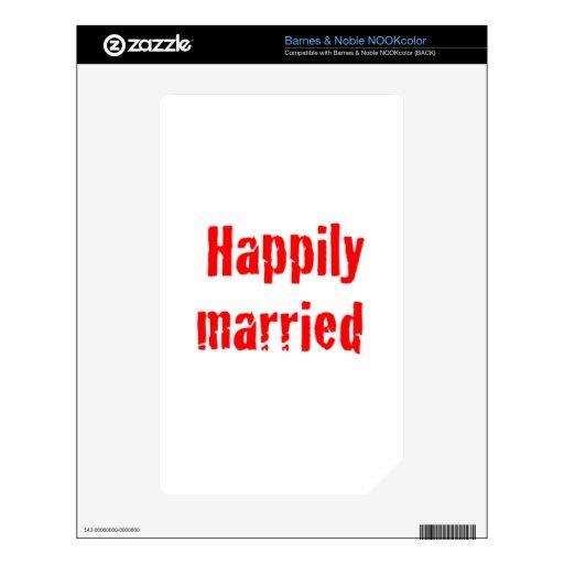 casado feliz skin para el NOOK color