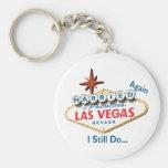 Casado OTRA VEZ en Las Vegas TODAVÍA HAGO llavero