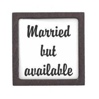 casado pero disponible cajas de regalo de calidad