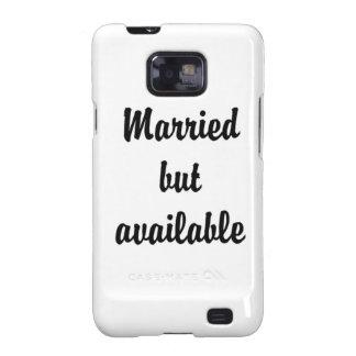 casado pero disponible galaxy SII carcasa