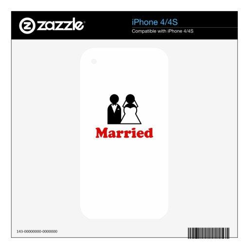 Casado Skins Para iPhone 4S