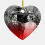Casado y feliz ornatos