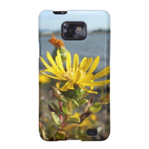 Casamata amarilla de la galaxia S de Samsung de la Samsung Galaxy S2 Carcasa