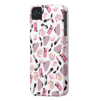 Casamata apenas There™ del iPhone 4 del perfume y iPhone 4 Case-Mate Cárcasa
