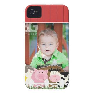 Casamata Barely There del iPhone 4/4S de la granja Case-Mate iPhone 4 Funda