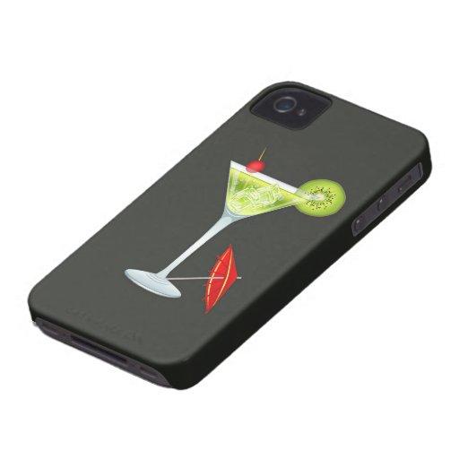 Casamata Barely There del iPhone 4/4S de Martini iPhone 4 Case-Mate Carcasas