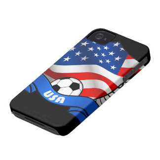 Casamata Barely There del iPhone 4/4S del fútbol iPhone 4 Case-Mate Cárcasas