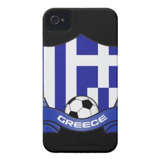 Casamata Barely There del iPhone 4/4S del fútbol iPhone 4 Cobertura