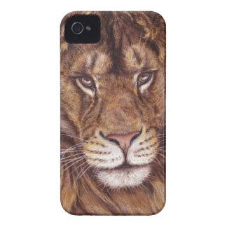 Casamata Blackberry 9700/9780 intrépido del león Carcasa Para iPhone 4