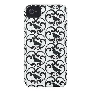 Casamata blanca negra del iphone 4 del modelo del iPhone 4 Case-Mate cobertura