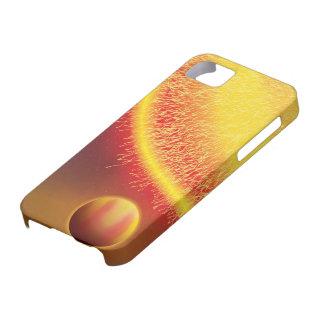 Casamata caliente Barely There de Júpiter Funda Para iPhone SE/5/5s