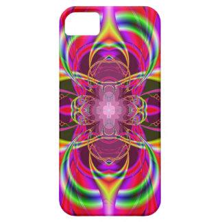 Casamata colorida de Iphone 5 geométricos rosados  iPhone 5 Case-Mate Cárcasa