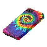 Casamata colorida del iPhone 4 del teñido anudado Case-Mate iPhone 4 Protectores