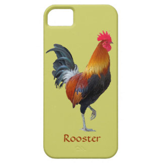 Casamata colorida del iPhone 5 del gallo que apunt iPhone 5 Carcasa