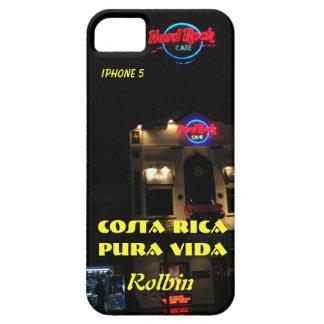 casamata Costa Rica Pura Vida Rolbin del iPhone 5 Funda Para iPhone SE/5/5s