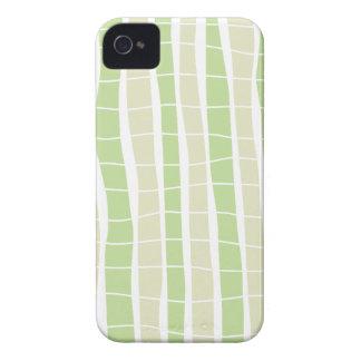 Casamata de bambú ondulada ID™ del iPhone 4 de la iPhone 4 Funda