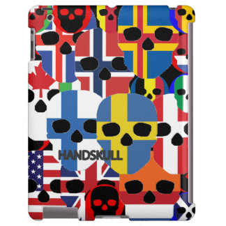 Casamata de Barely There del iPad de HANDSKULL Cer