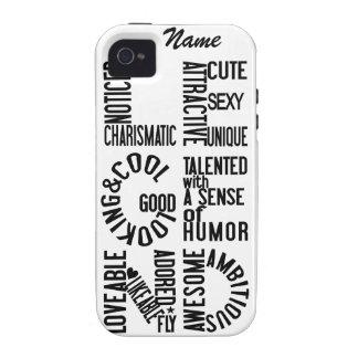 Casamata de encargo del iPhone 4 de la LEYENDA Case-Mate iPhone 4 Carcasas