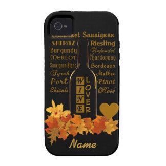 Casamata de encargo del iPhone 4 del amante del vi Case-Mate iPhone 4 Fundas