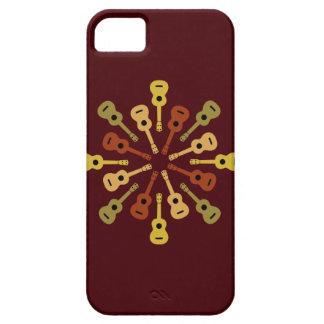 Casamata de encargo del iPhone del Ukulele iPhone 5 Carcasa